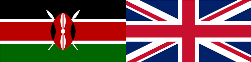 UK Kenya Flag